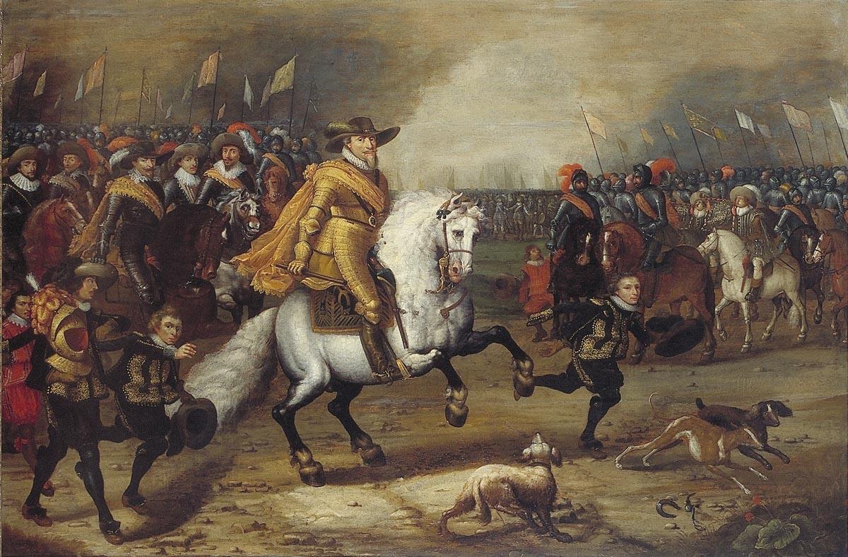 File:Maurits (1567-1625), prins van Oranje, in de slag