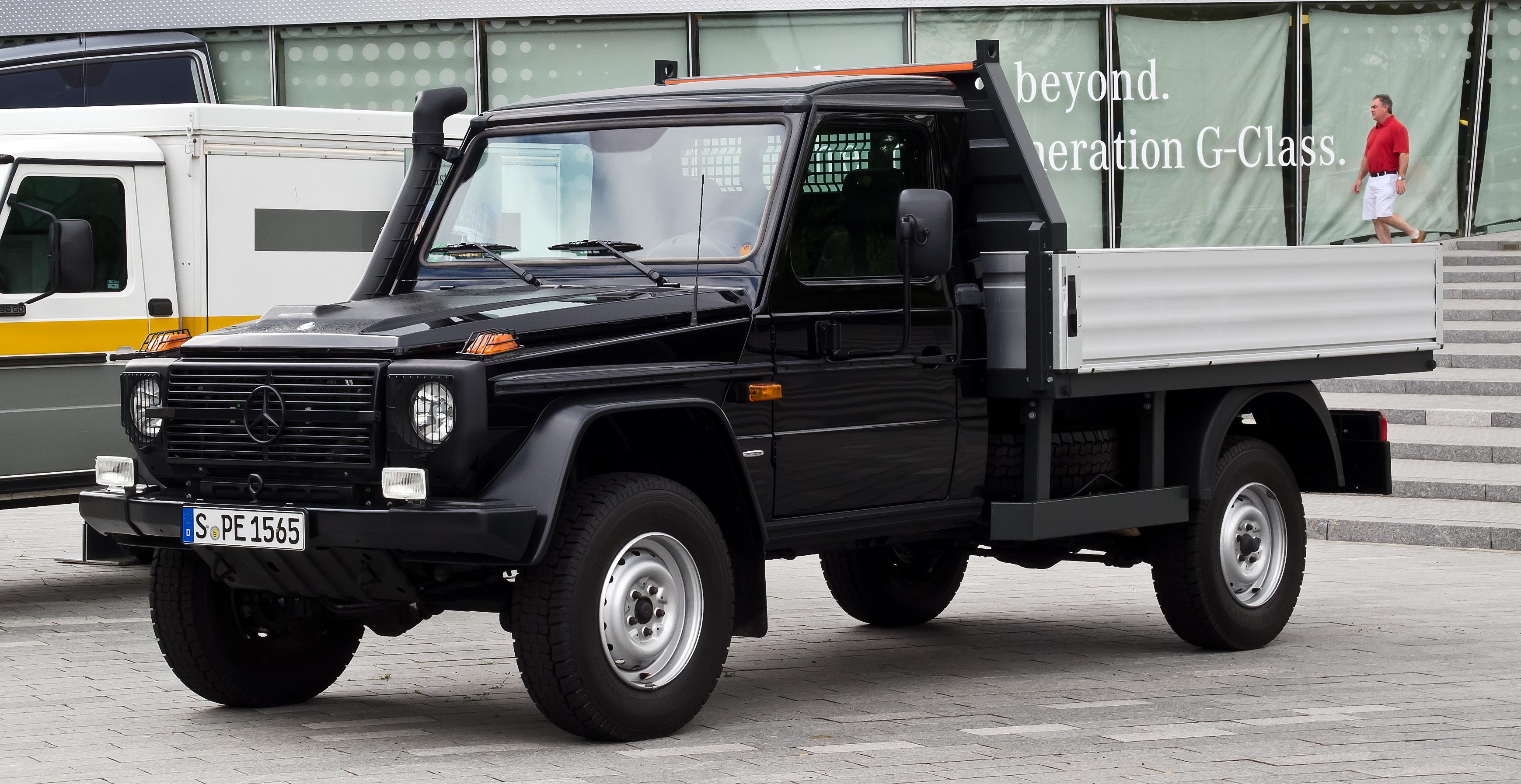 Mercedes benz gaat een pickup bouwen updated for Mercedes benz wisconsin