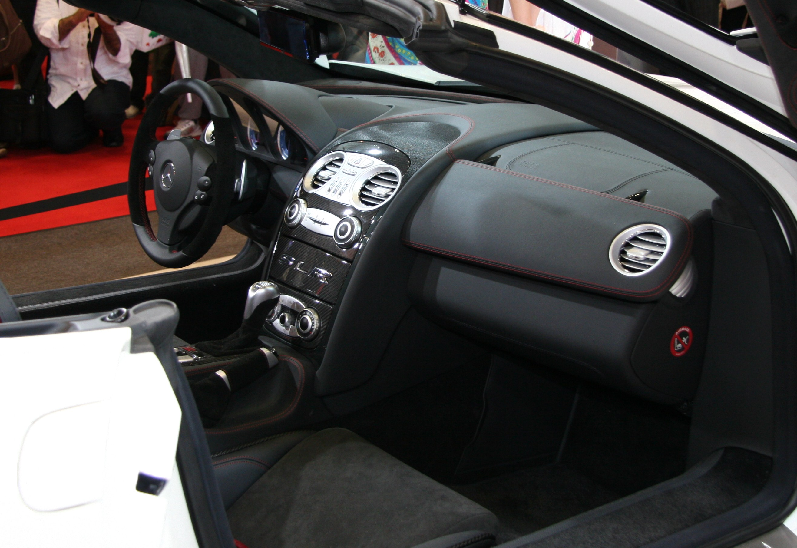 File Mercedes Benz Slr Mclaren Roadster 722s Interior Jpg