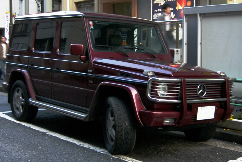 File:Mercedes G 500 longr Japan.jpg - Wikimedia Commons