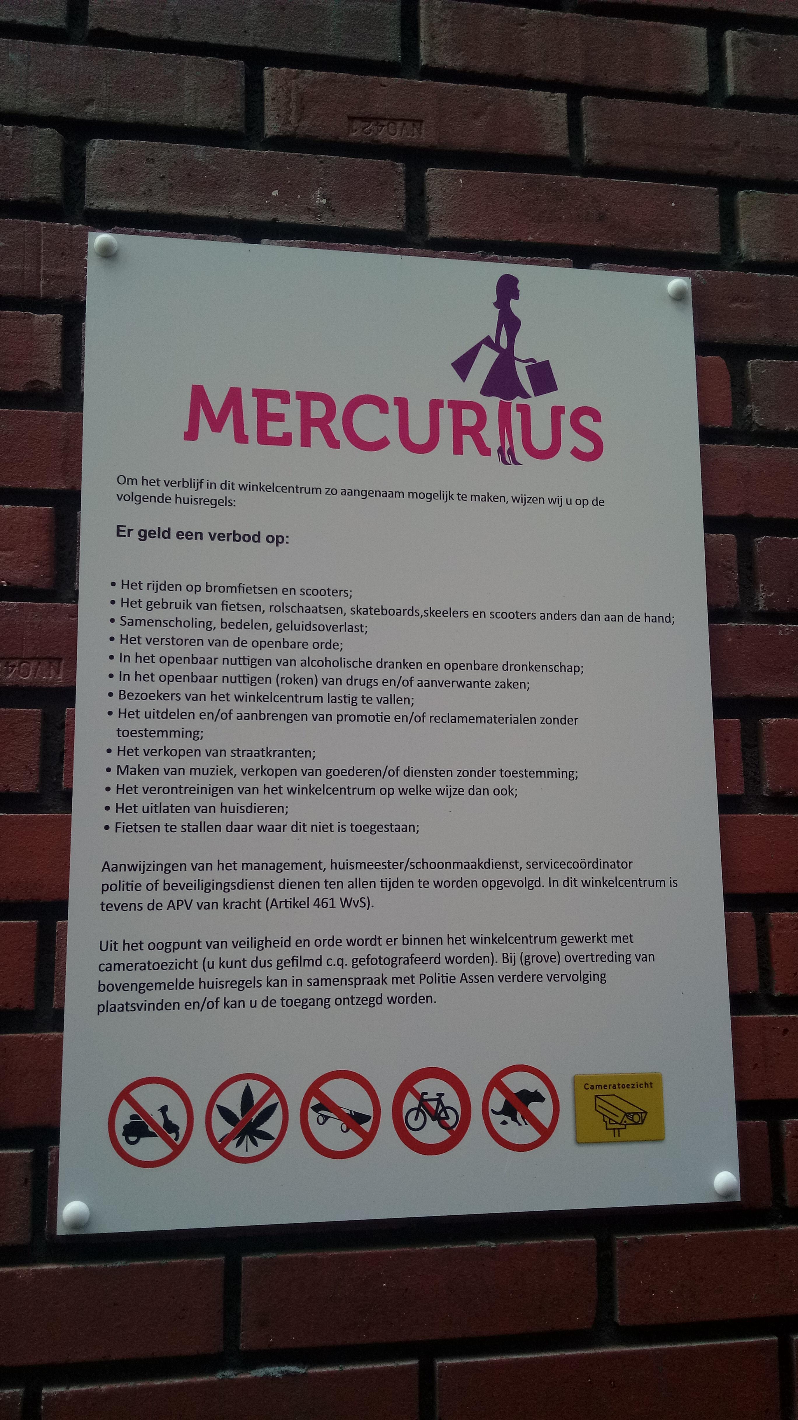 Filemercurius Huisregels Sign Assen 2019jpg Wikimedia