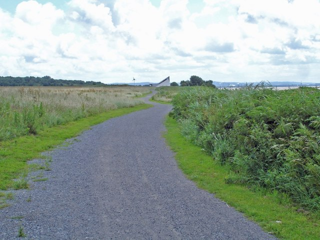 Mersey Way beside old Liverpool Airport - geograph.org.uk - 493534