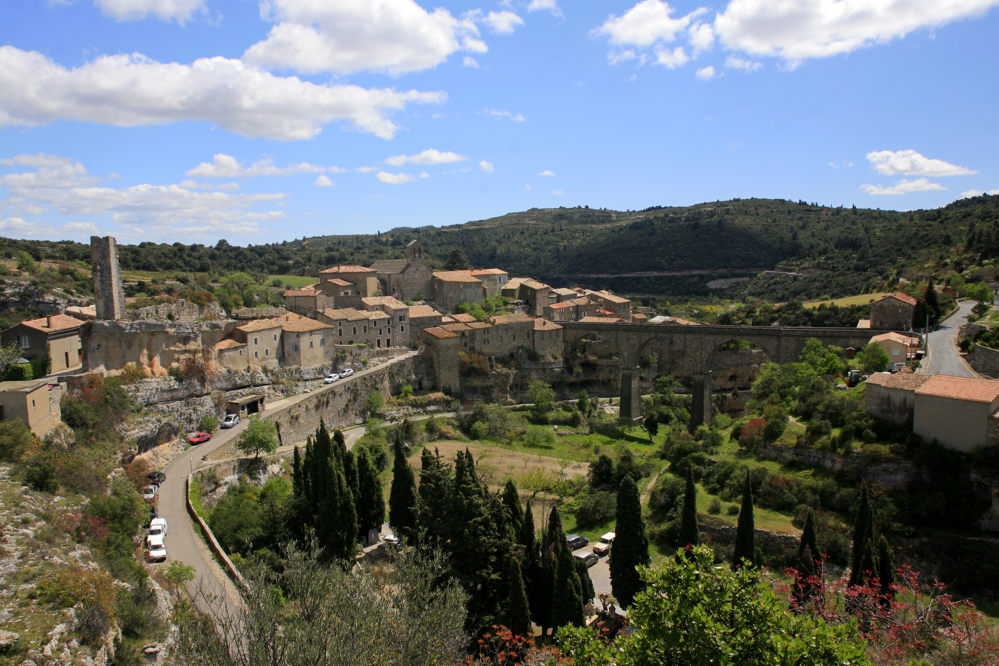 French Chateau Homes File Minerve Languedoc Rousillon Southern France Jpg