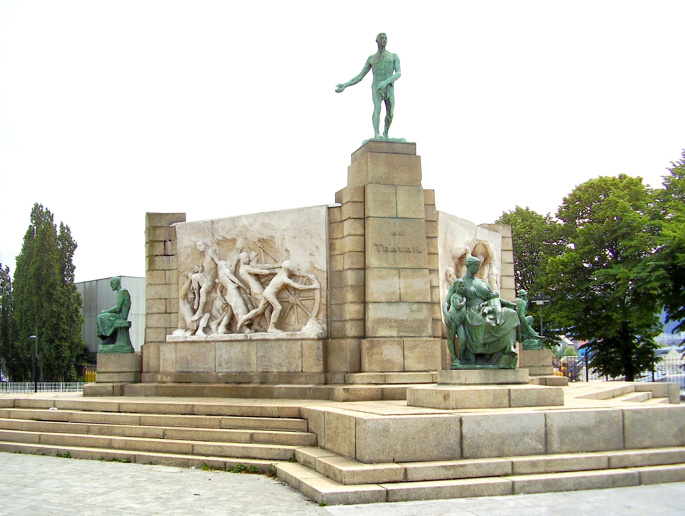 Depiction of Monumento al Trabajo