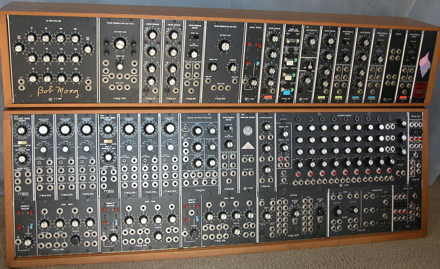 Moog modular synthesizer - Wikipedia