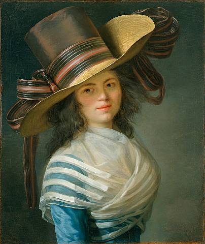 Mosnier - Portrait of a Lady
