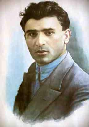 Mikayil Mushfig was an Azerbaijani poet of the 1930s, known for his resistance against the Soviet Union, he was arrested and executed by the Soviet authorities at the age of 30. - List of Azerbaijanis