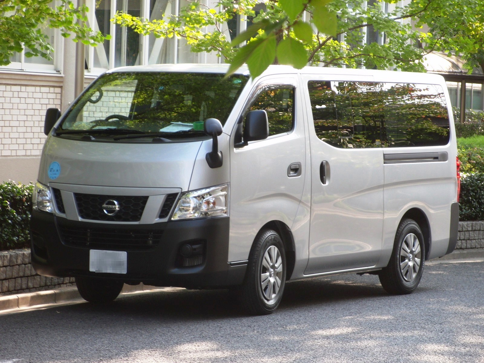 File Nissan Nv350 Caravan Front Jpg Wikimedia Commons