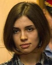Nadezhda Tolokonnikova (Pussy Riot) at the Moscow Tagansky District Court - Denis Bochkarev cropped.jpg