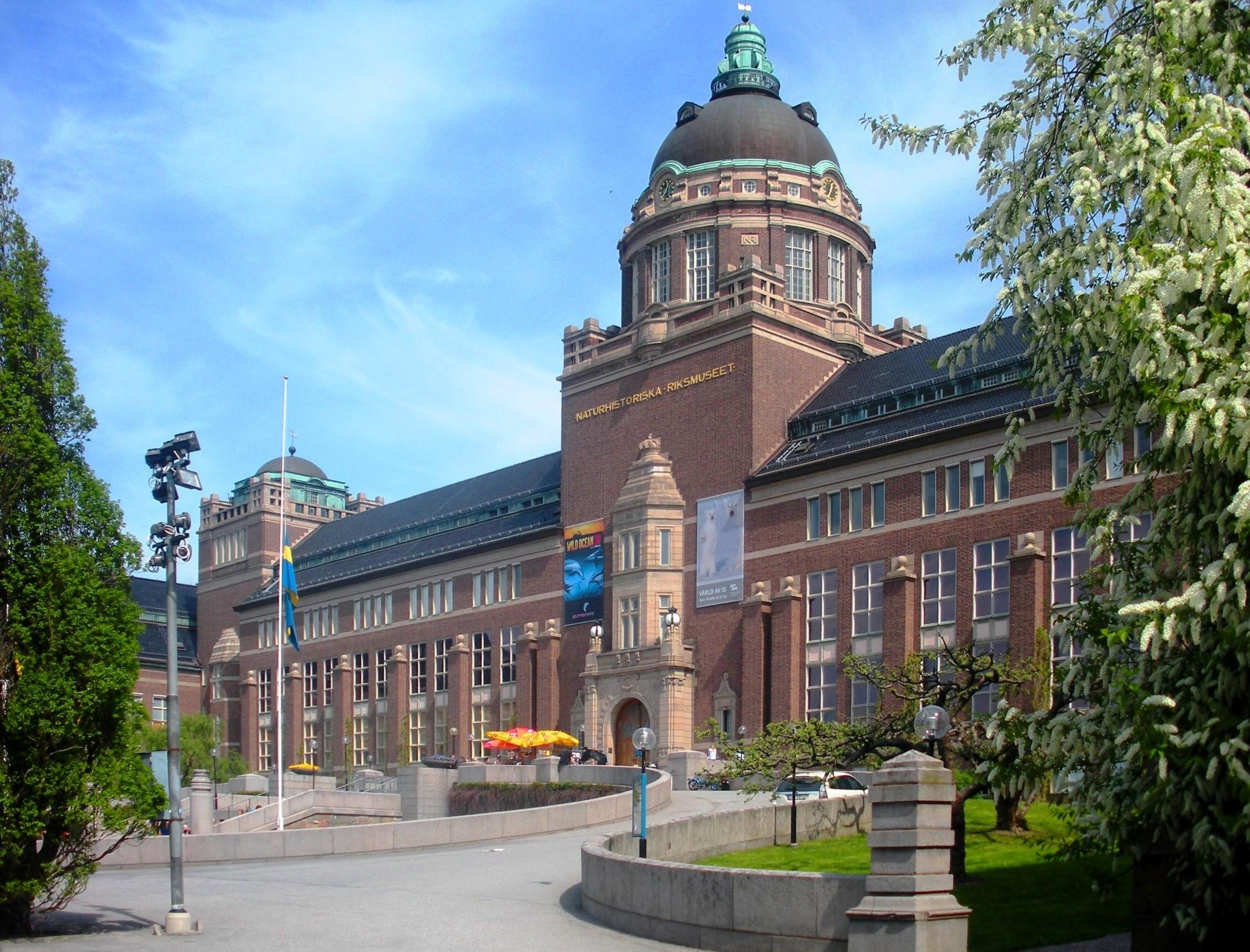 Stockholm Sweden Natural History Museum