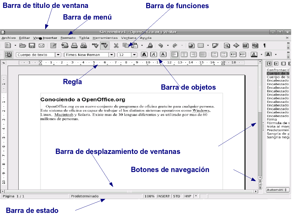 Writing a book with openoffice free