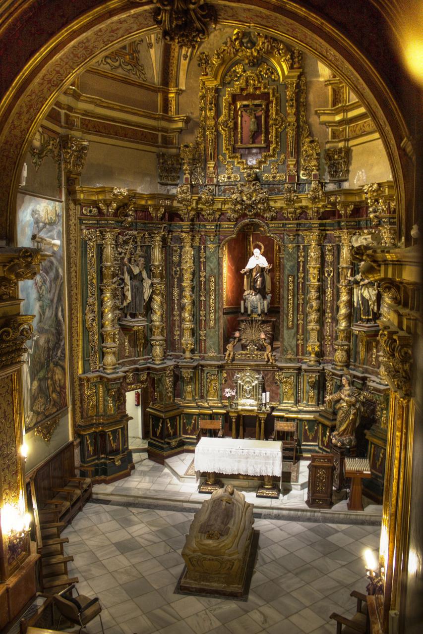 Oratorio de San Juan de la Cruz en Úbeda, donde fue sepultado al morir.