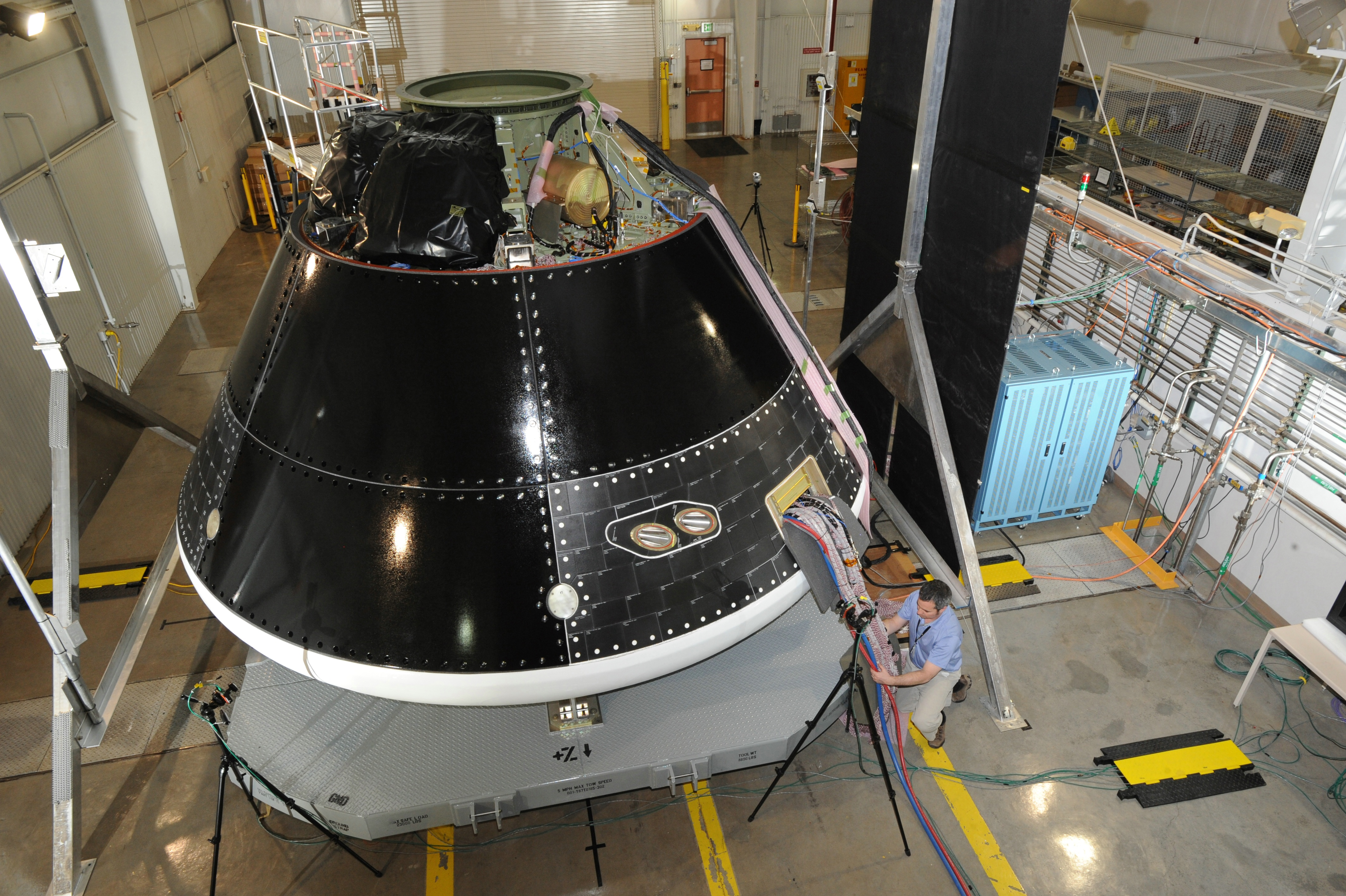 Orion in construction