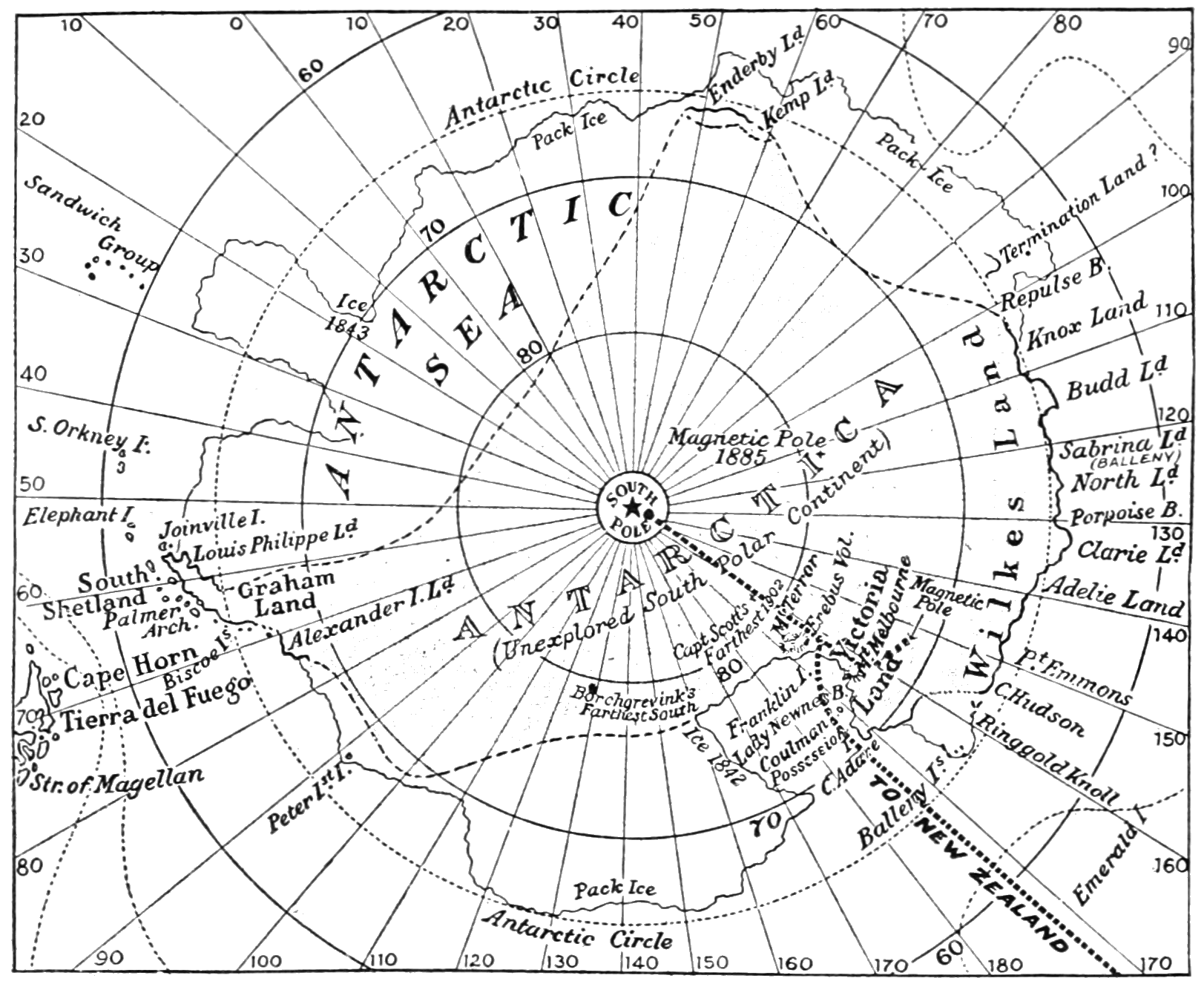 PSM V74 D521 Map of the antarctic region showing shackleton route.png