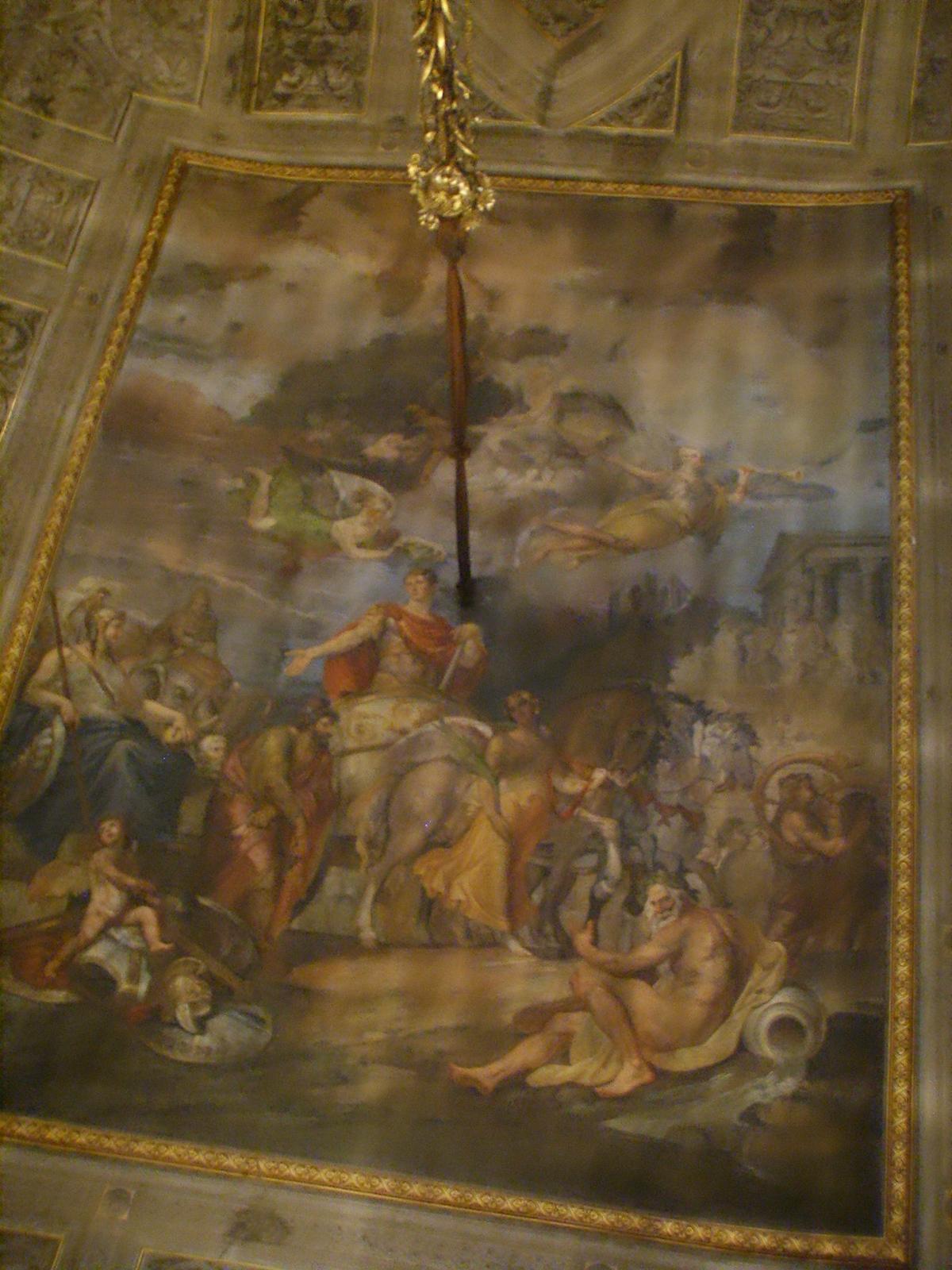 File palazzo borghese sala degli specchi soffitto jpg wikipedia - Specchi riflessi testo ...