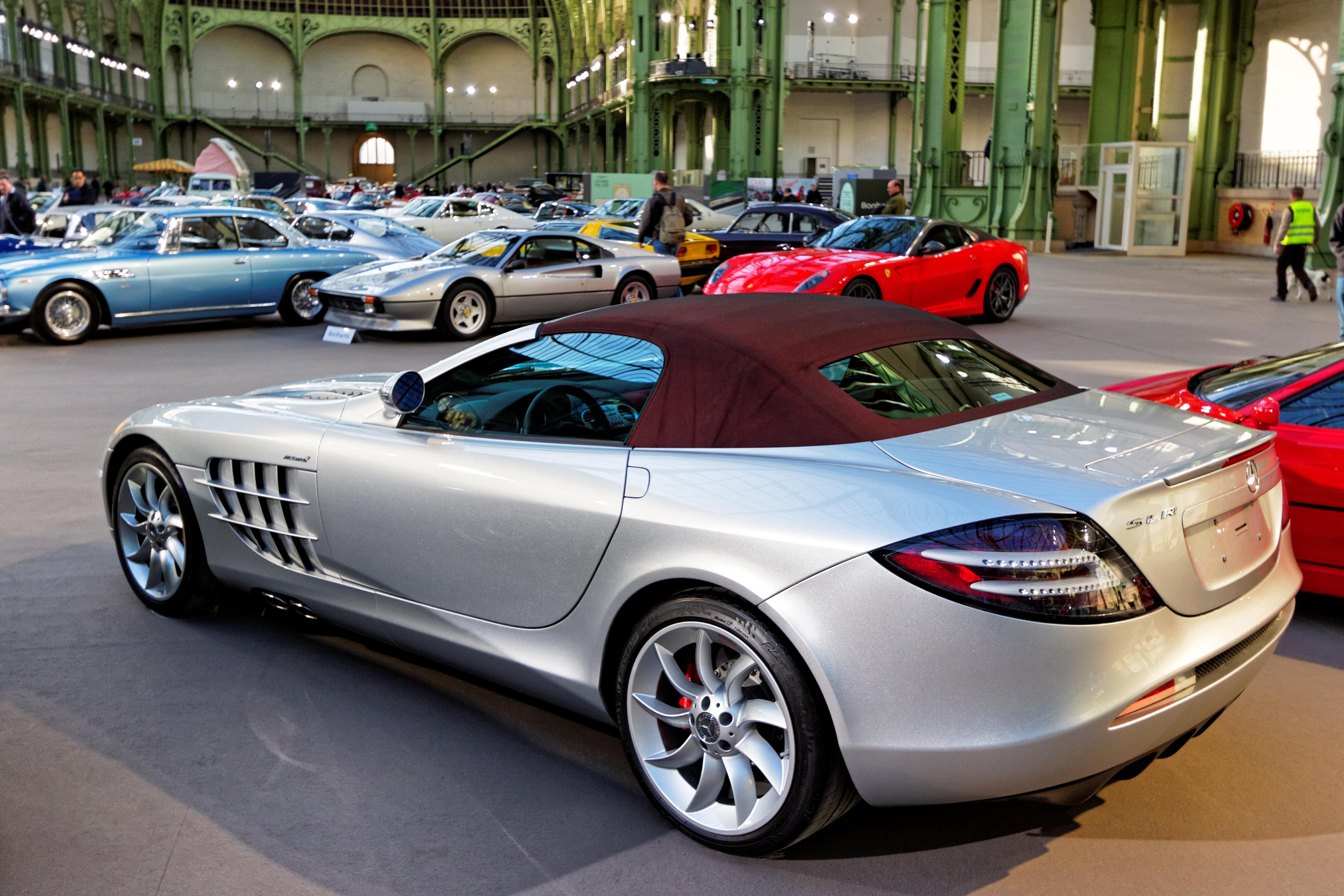 File Paris Bonhams 2016 Mercedes Benz Slr Mclaren Roadster