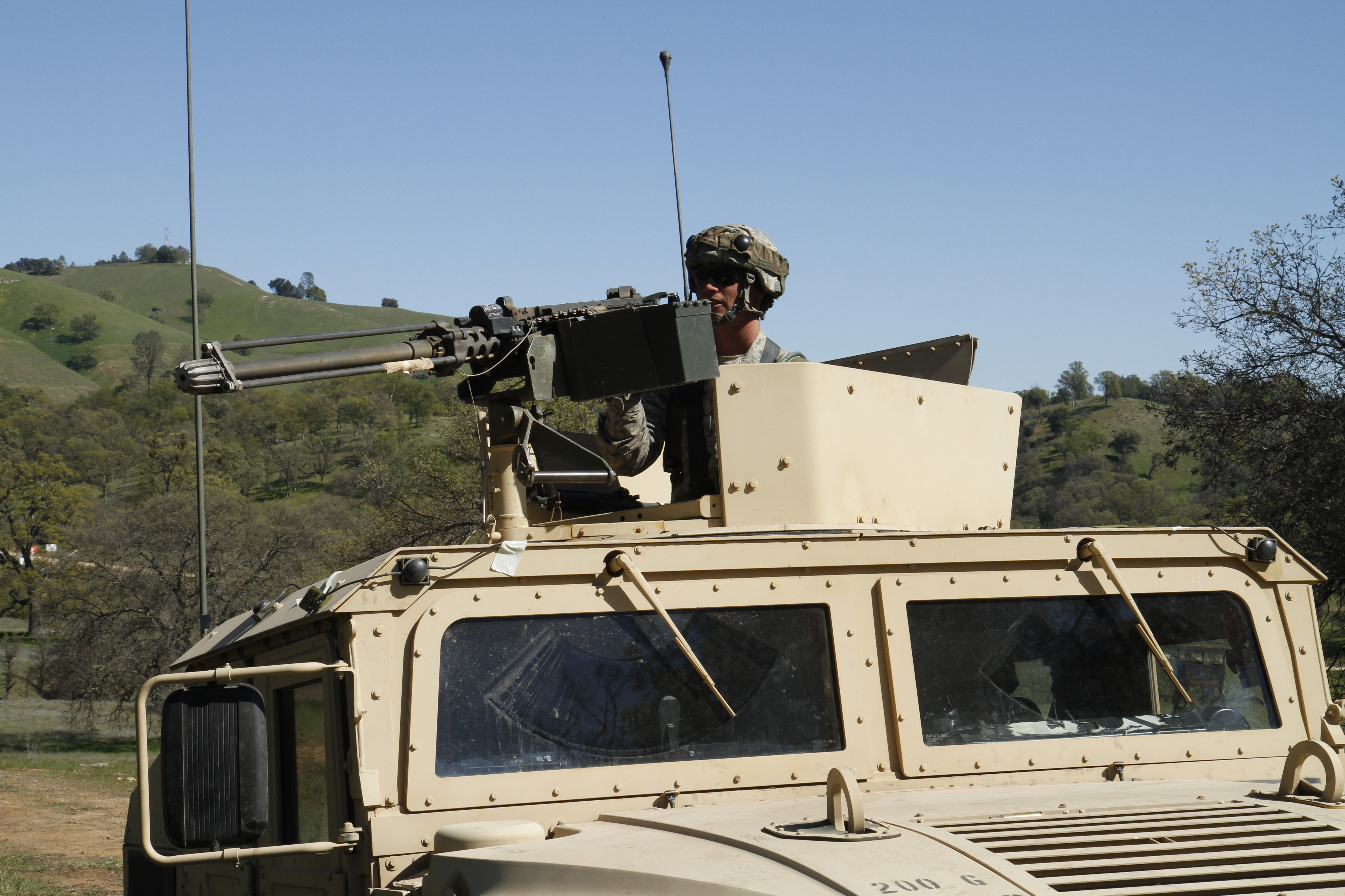 FilePfc Nicholas Arm Of The 377th Military Police Company Pulls Security In A