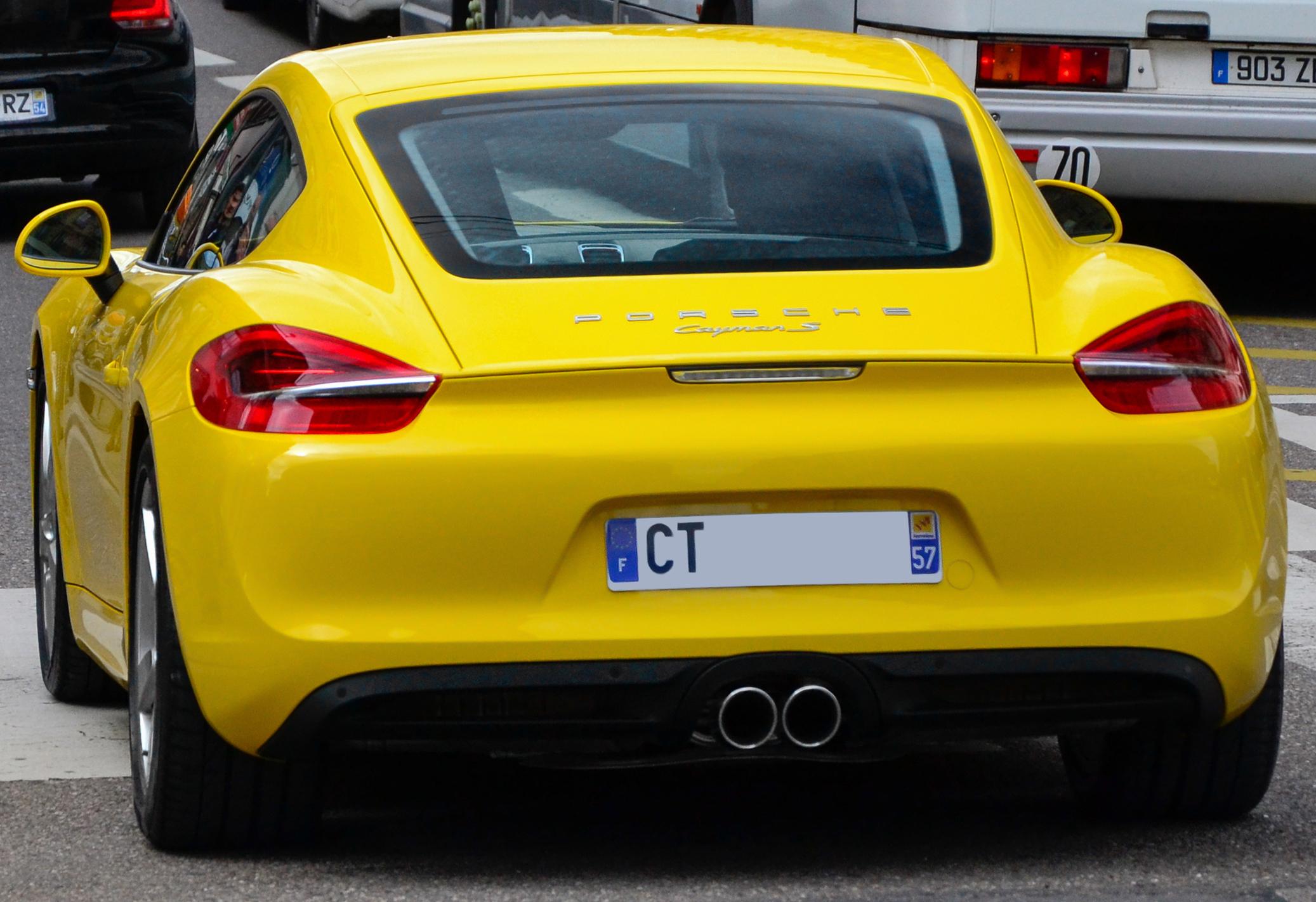 Porsche Cayman S - Flickr - Alexandre Prévot (5) (cropped).jpg