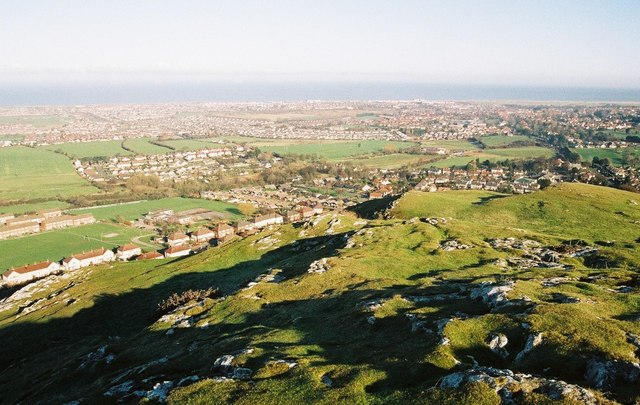 Prestatyn, view over town from Dyserth - geograph.org.uk - 448510