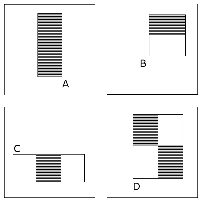 comparing rectangles