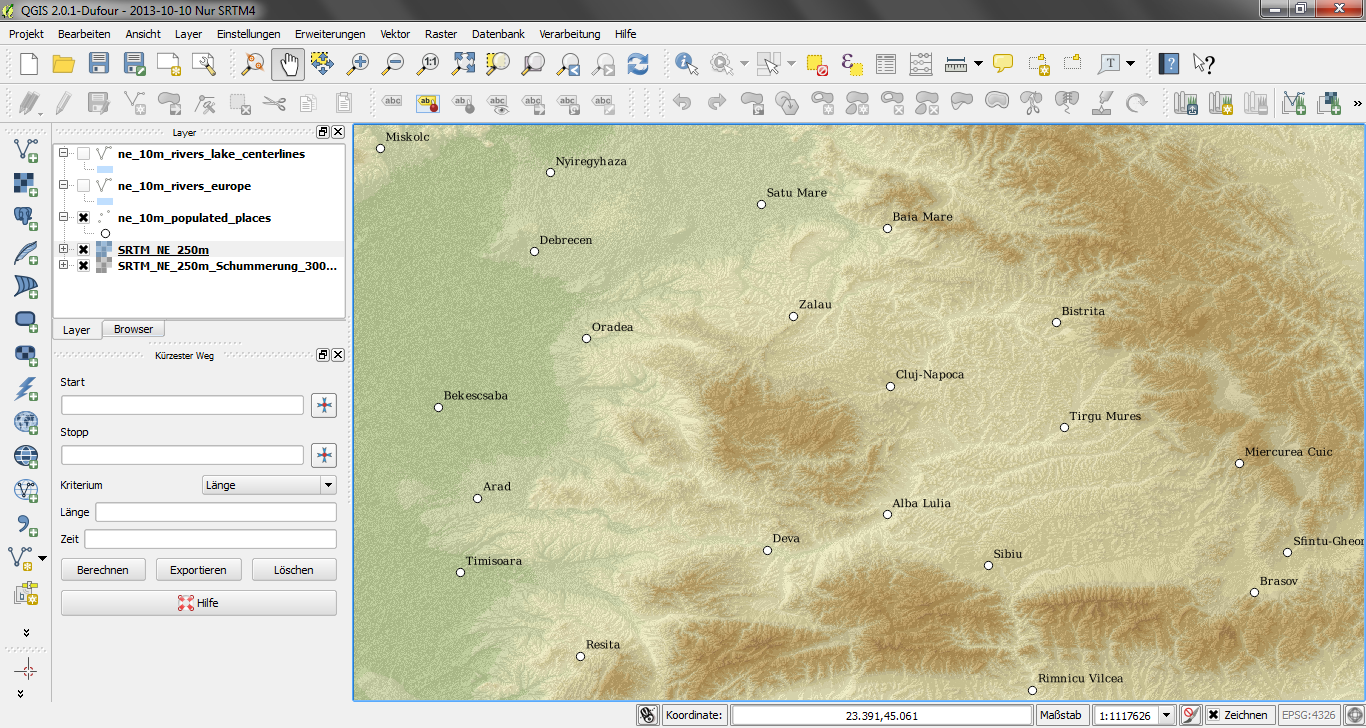 how to use tiff files in qgis
