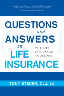 Cover of book, Questions and Answers on Life I...