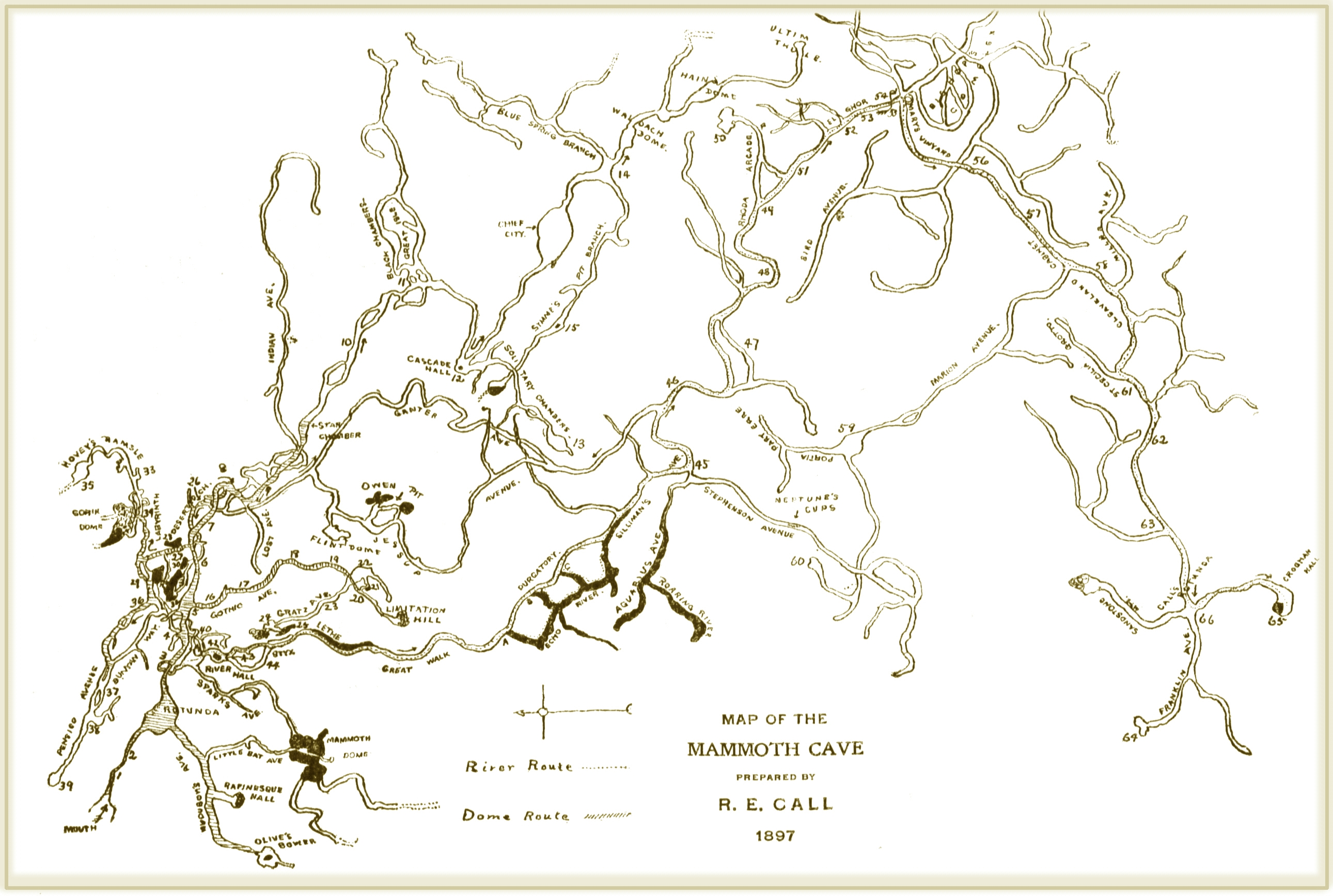 File:R.E.Call (1897) Map of the Mammoth Cave.jpg - Wikimedia ... on red river gorge map, covered bridges in kentucky map, tennessee map, rivers in kentucky map, caves in tennessee, caves minnesota map, caves arizona map, coal mines in kentucky map, caves wisconsin map, cave city ky map, caves alabama map, wineries in kentucky map, arkansas map, mammoth cave map, virginia map, mountains in kentucky map, national parks in kentucky map, spain map,