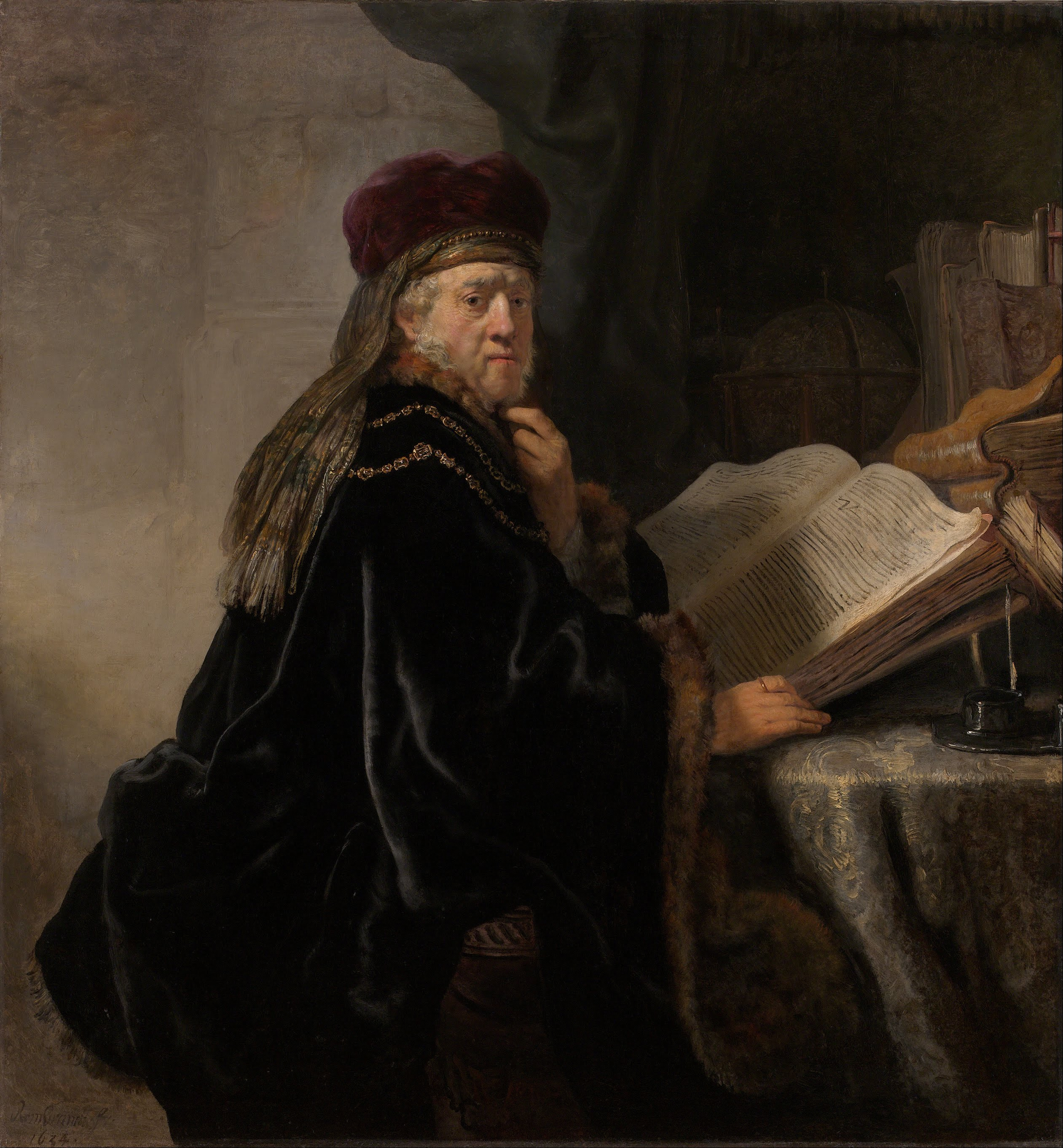 Filerembrandt harmensz van rijn scholar at his study google art filerembrandt harmensz van rijn scholar at his study google art project stopboris Choice Image
