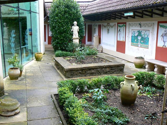 File Roman Garden 2 Corinium Museum Cirencester
