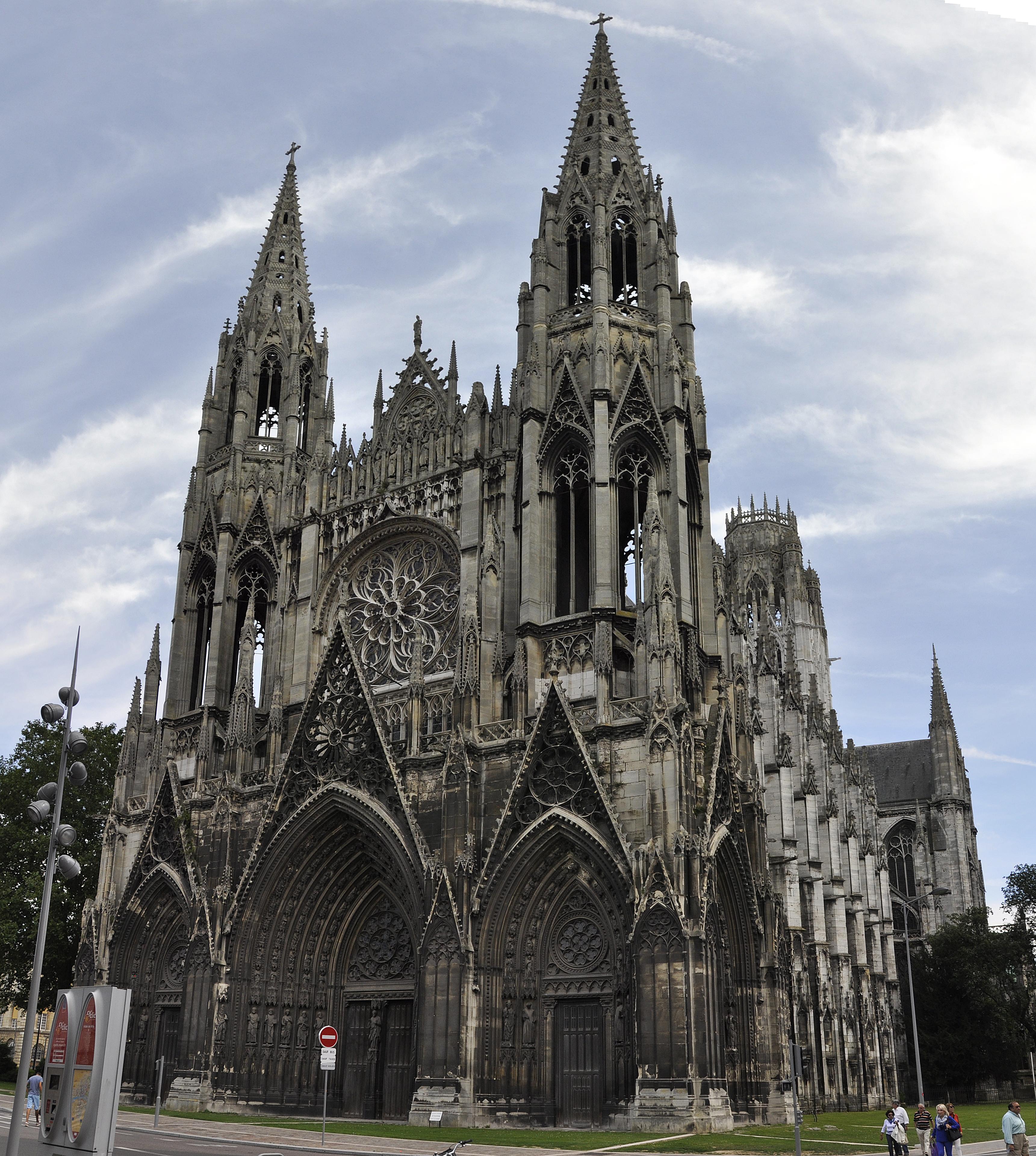File rouen abbatiale saint wikimedia commons - Agence saint ouen rouen ...