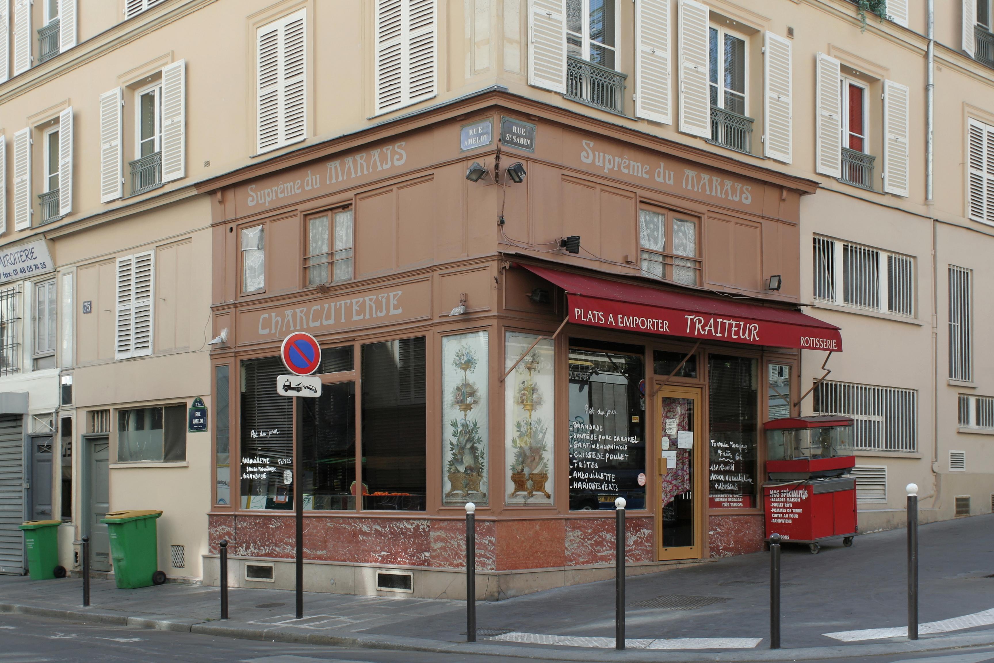 Cafe Industrie Rue Sabin