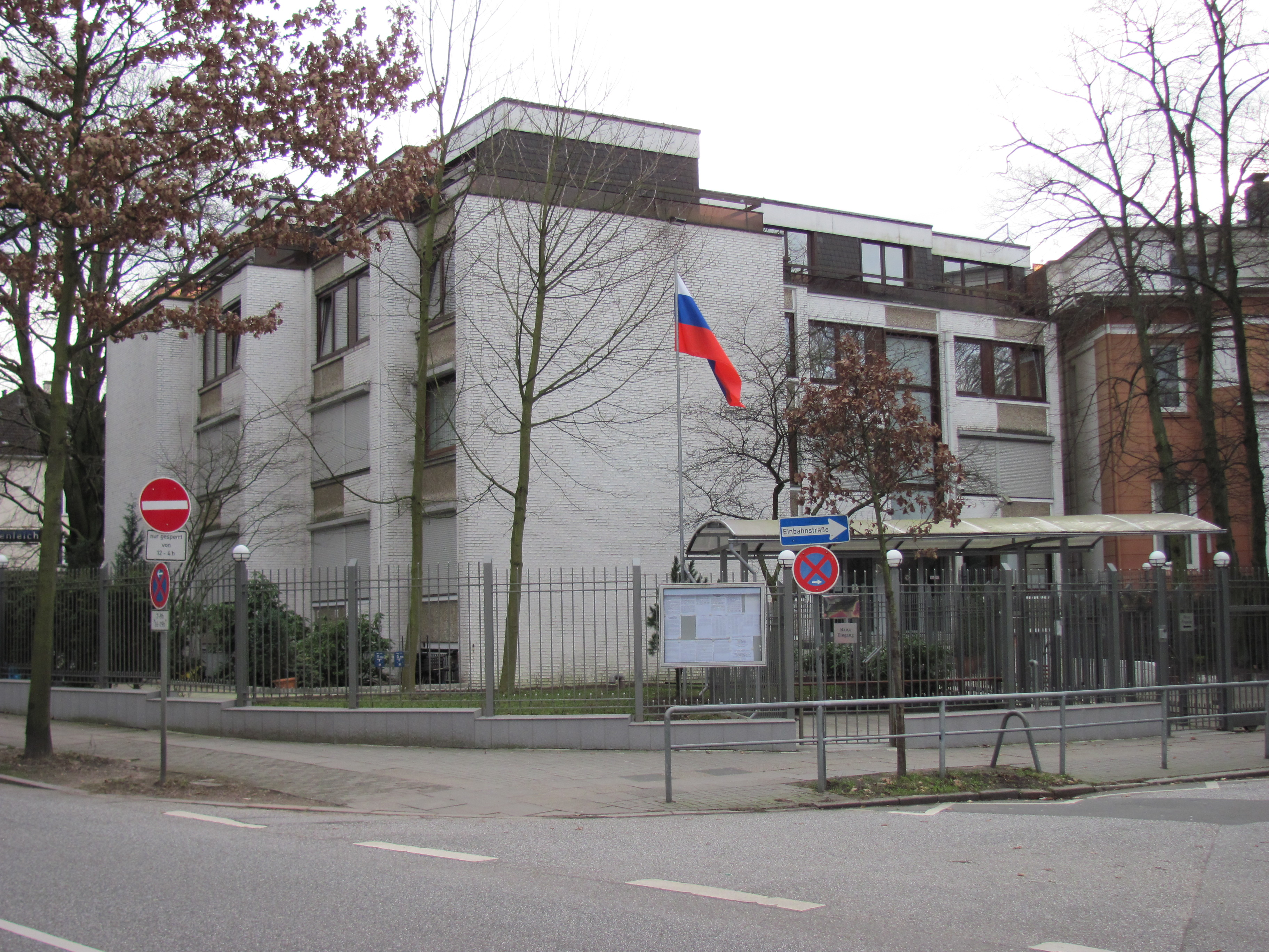 in hamburg russian embassy