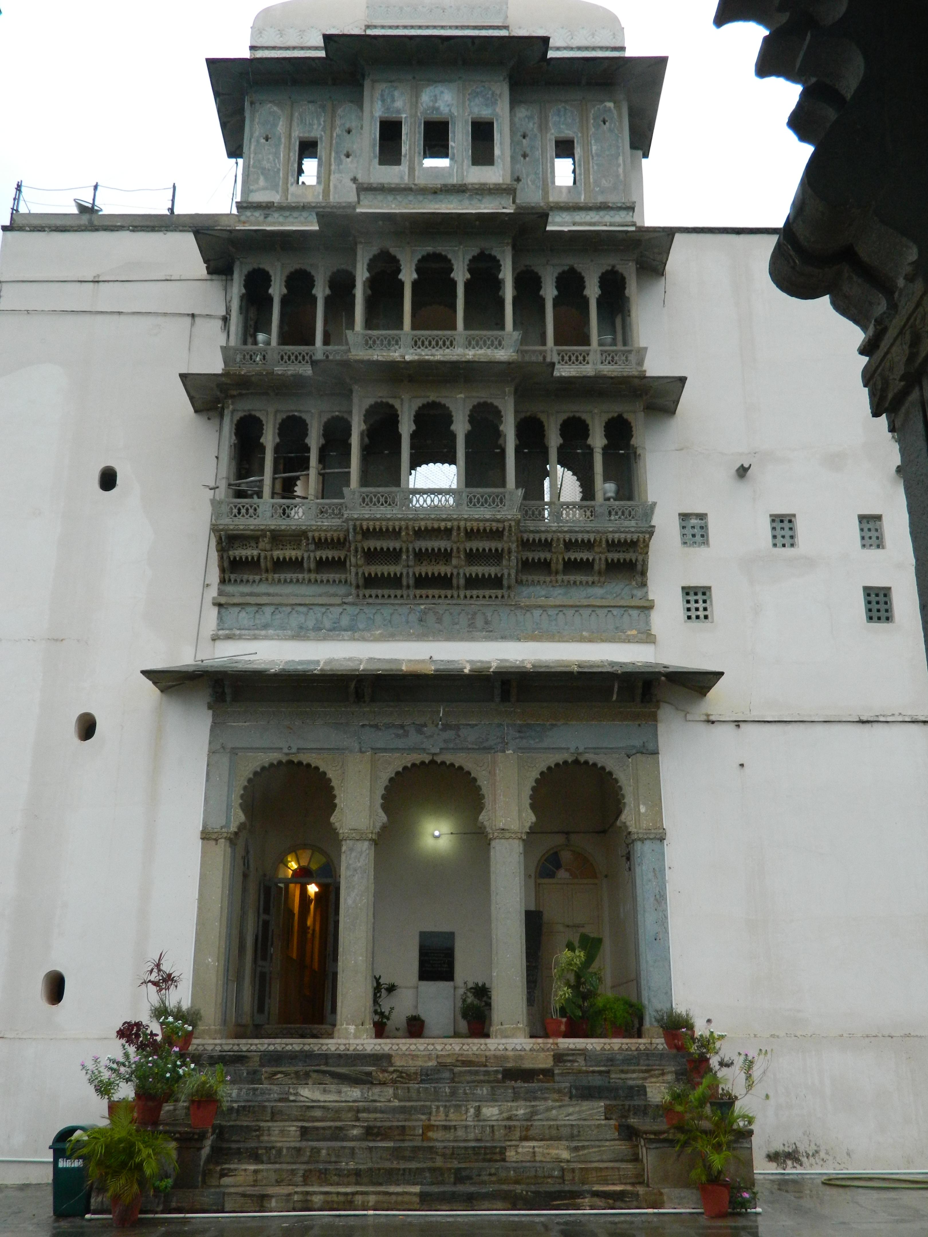 A beautiful click of the Sajjangarh Monsoon Palace