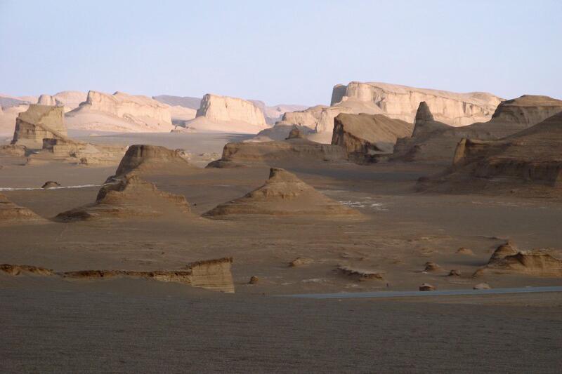 Sand castles - Dasht-e Lut desert - Kerman