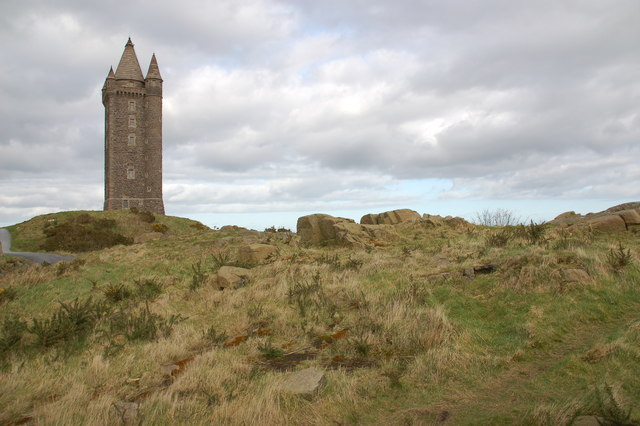 Scrabo Tower near Newtownards - geograph.org.uk - 347929