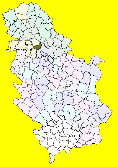 karta srbije stara pazova Stara Pazova (općina) – Wikipedija karta srbije stara pazova