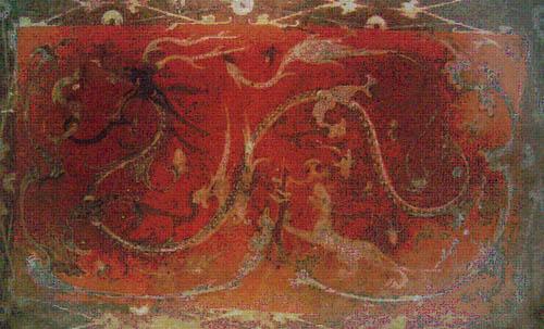 Si shen yun qi Painting form Liu Fa tomb.jpg