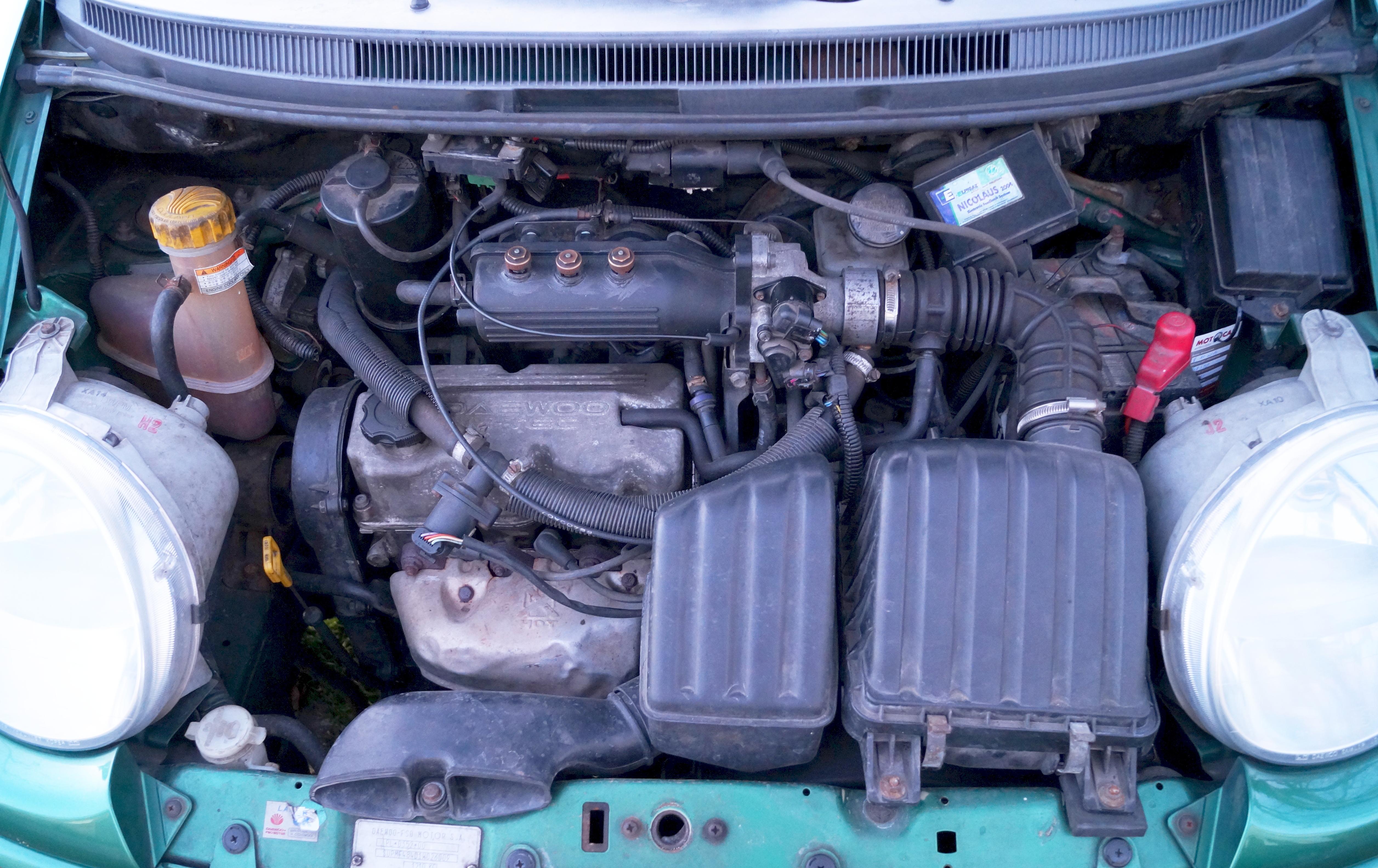 File:Silnik M-Tec 0,8 l, Daewoo Matiz LPG.JPG - Wikimedia Commons