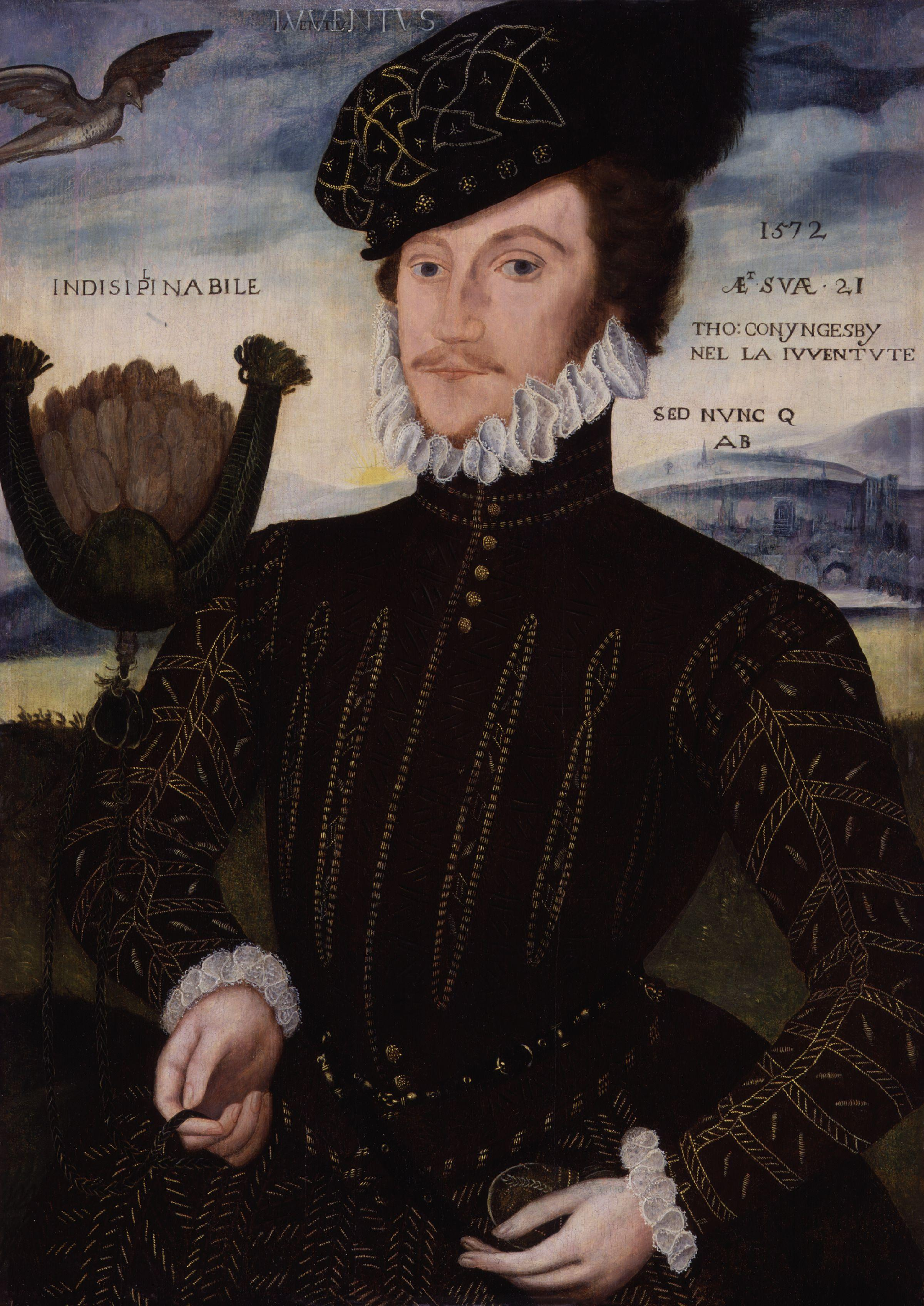 Sir Thomas Coningsby by George Gower, National Portrait Gallery