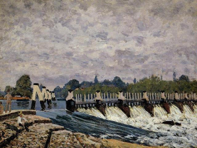 File:Sisley Molesey Weir-Morning.jpg