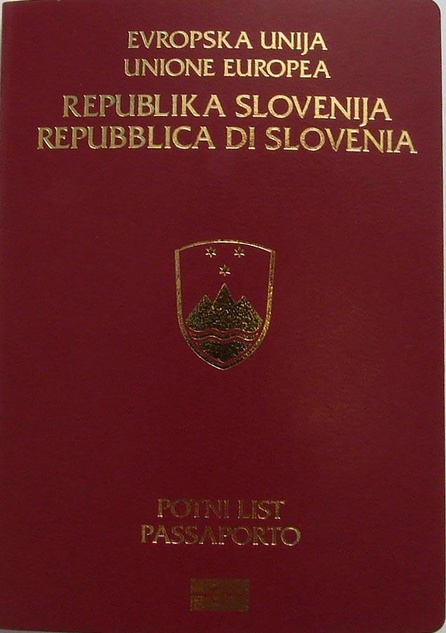 Passaporto Biometrico Italiano Passaporto Biometrico Sloveno
