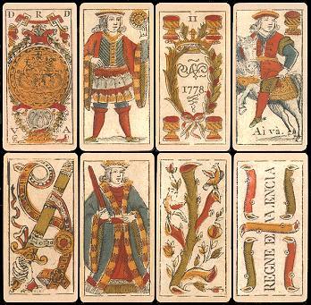Spanish_deck_printed_in_Valencia%2C_in_1778 - Baraja Española - Facts and Trivia