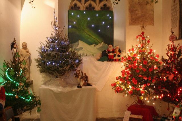 File:St Sennen Church Festival of Christmas Trees ...