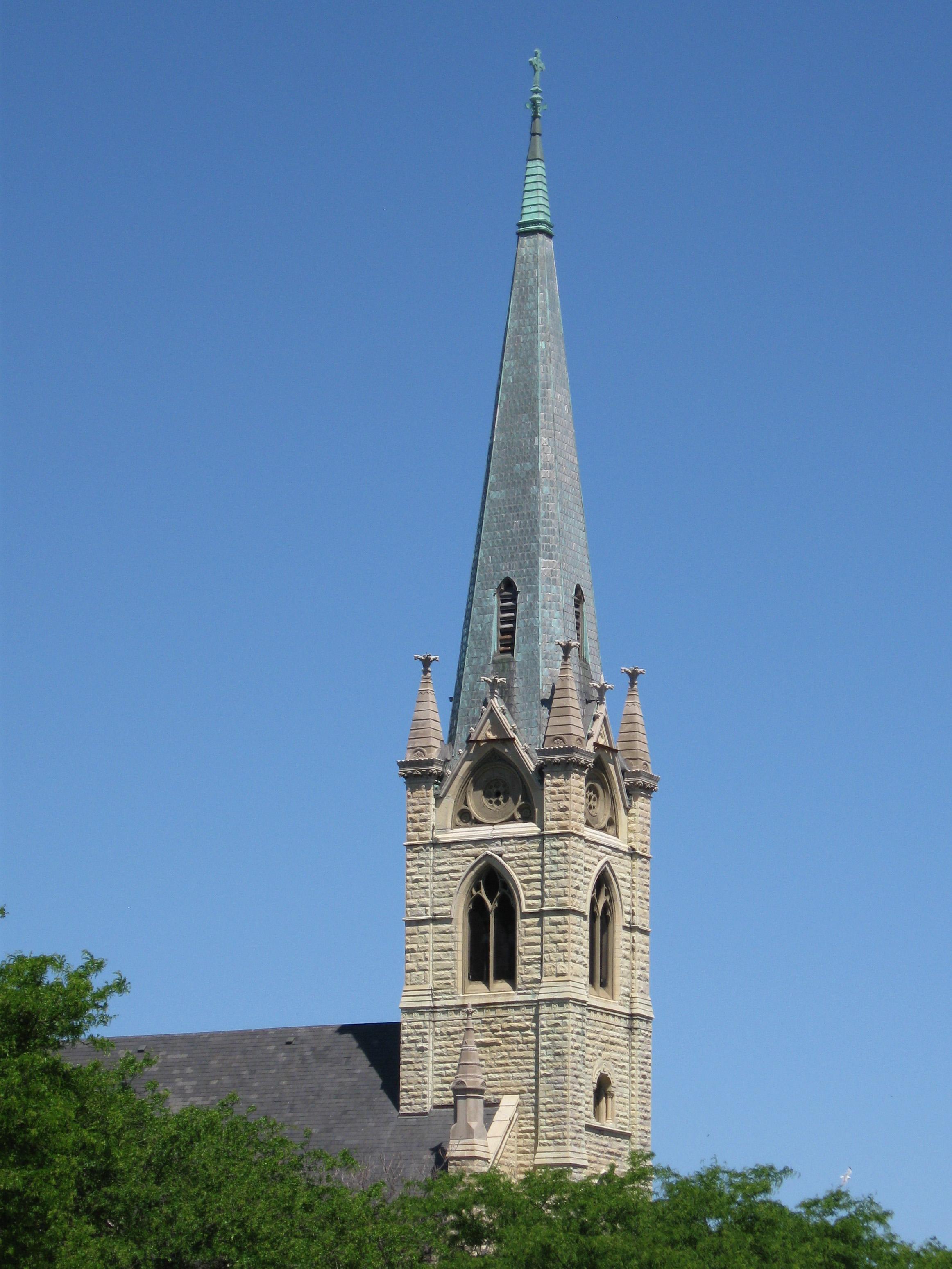 Filesteeple of st james catholic churchg wikimedia commons filesteeple of st james catholic churchg altavistaventures Images