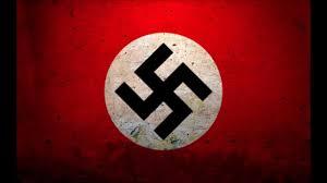 La svastika, l'emblème du régime nazi.
