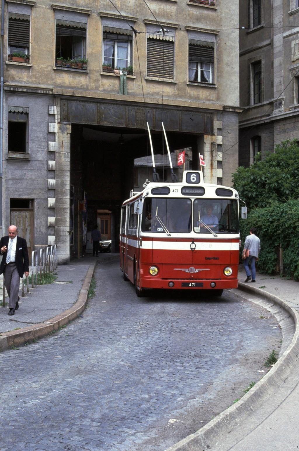 Bus  Lyon Cours La Ville