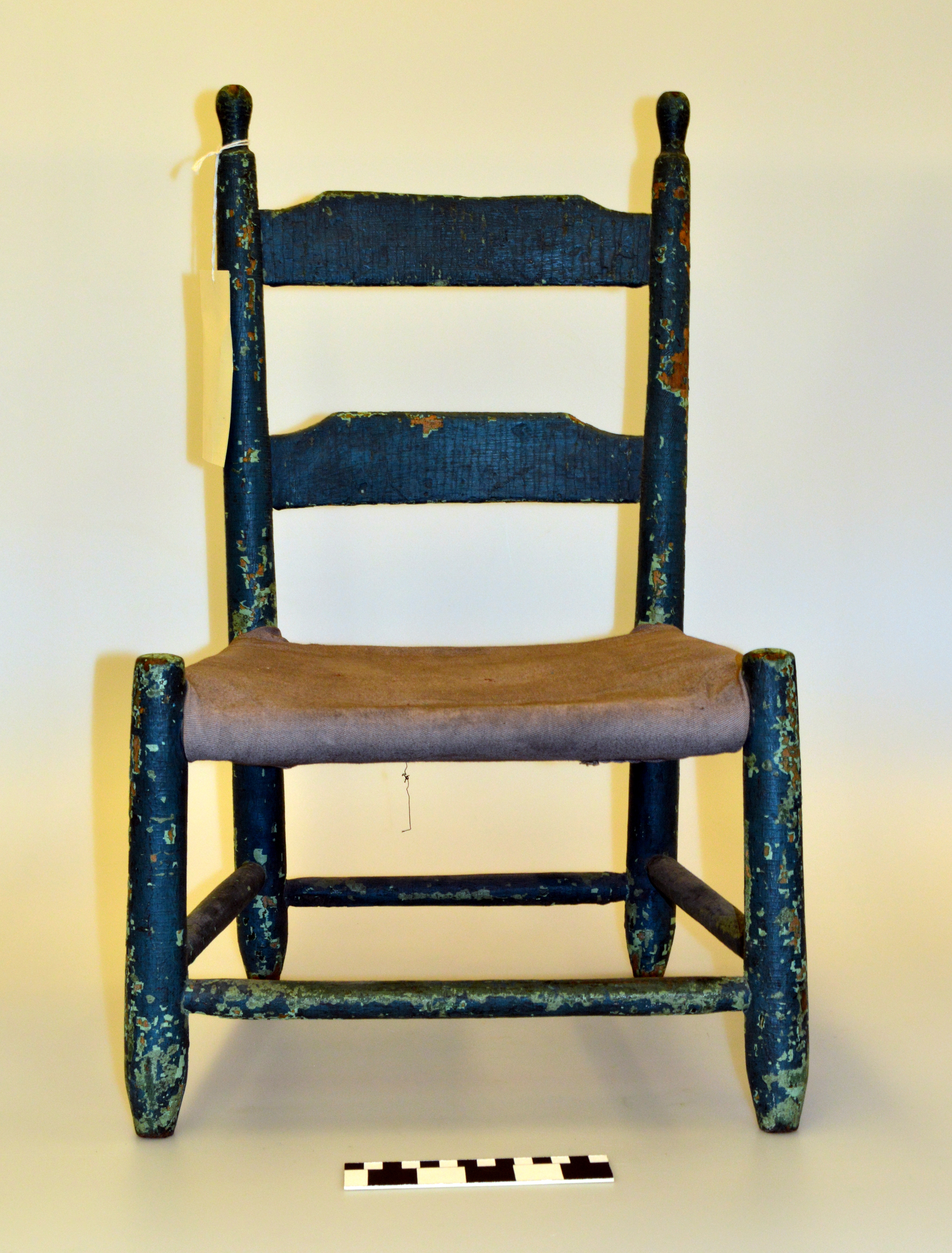 File:Teal Green Painted Wooden Childu0027s Chair