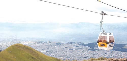Teléferico de Quito, tomada de Wikipedia
