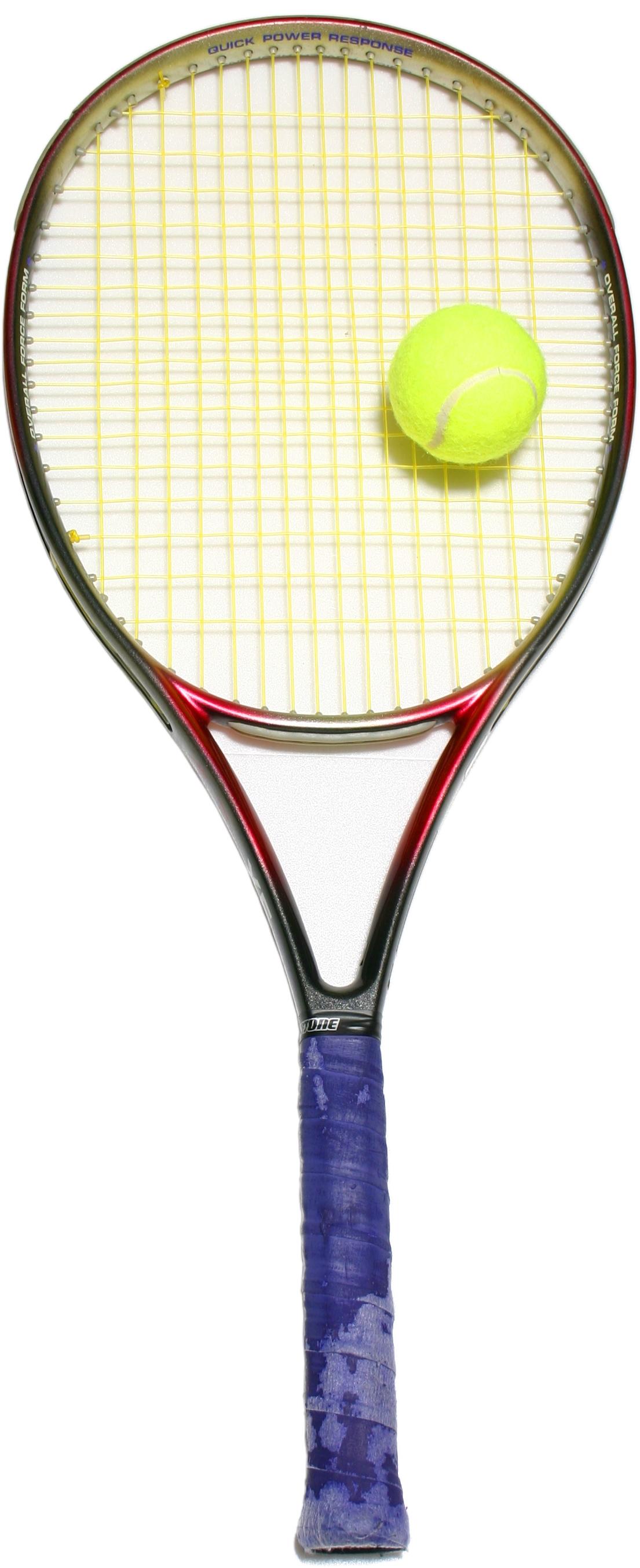 File Tennis Racket Jpg Wikimedia Commons