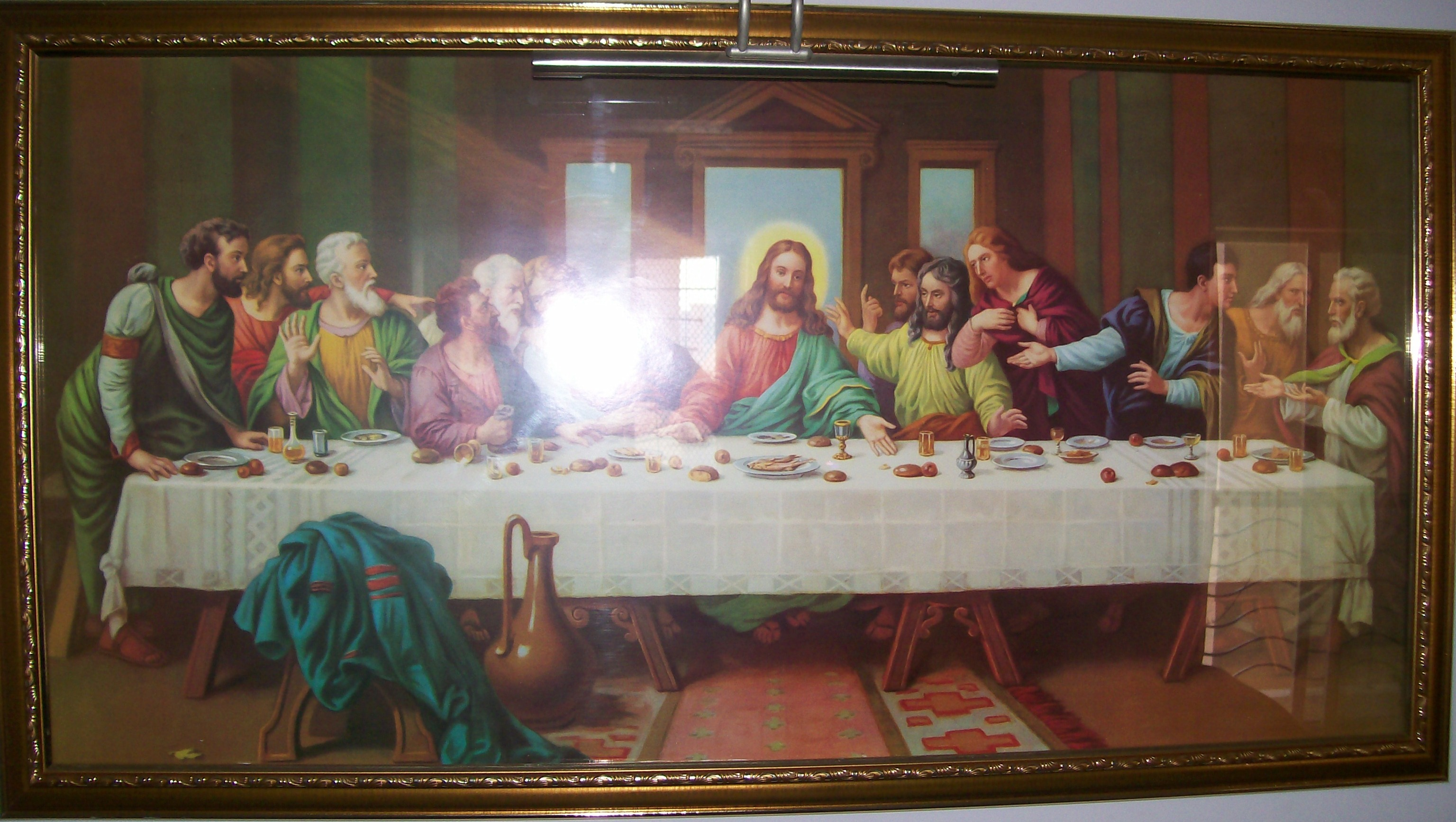 filethe last supper paintingjpg wikipedia
